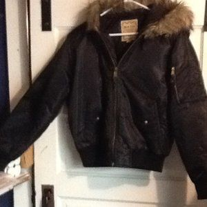 Red Fox jacket with fur